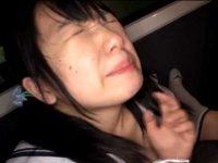 車内で制服娘にしゃぶらせ口内発射「おじさんの精子飲んでごらん?」頭を撫でられゴクリ