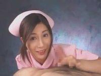 勃起チ〇ポを握る看護婦「出さないと体に毒ですよ!」がむしゃら手コキで発射【鈴木杏里】