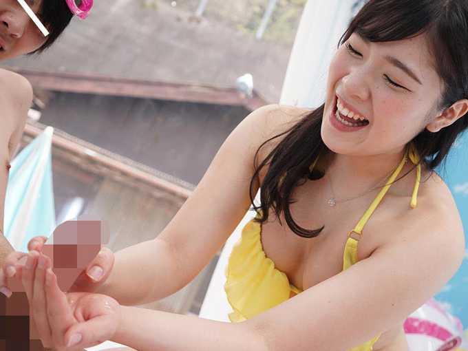 10代水着美少女が高額賞金GET!連続射精チャレンジ!6