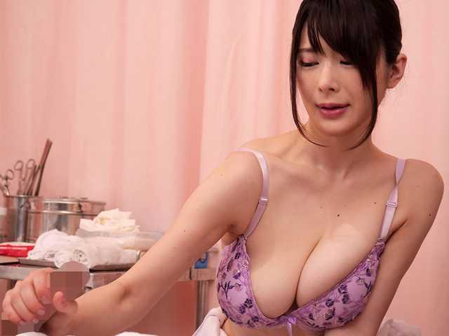 献身的なパイズリ挟射で性処理してくれる巨乳看護師5