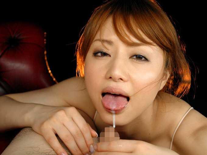 舌上発射100連発-7